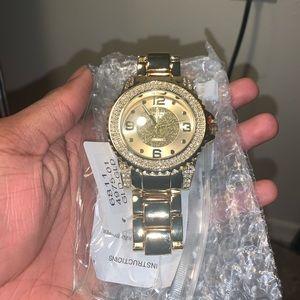 Fashion Nova Accessories - Gold Watch